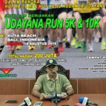 """Berhadiah Rp200 Juta, Pendaftaran """"Udayana Run 5K dan 10K"""" Dibuka 16 Juli 2019"""