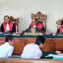 Miliki 255 Gram Sabu, Dua Terdakwa Dituntut Masing-masing 15 Tahun Penjara