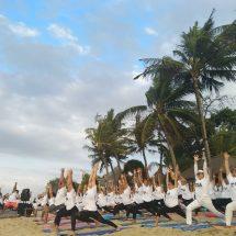 Santrian Yoga Festival 2019, Tampilkan Gerakan Akrobatik dengan Keseimbangan Tingkat Tinggi