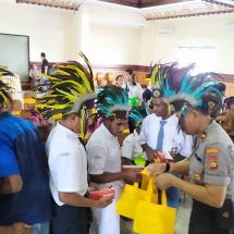 Polresta Denpasar Rangkul Siswa Papua, Ajak Cintai NKRI