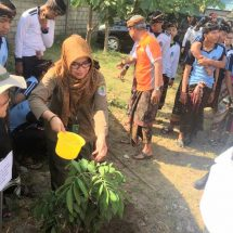 SMAN 2 Kuta Bersama Rotary Club Bali Benoa dan BPDASHL Unda Anyar Tanam Pohon Bersama Lestarikan Alam Bali