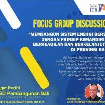 "Bali Tuan Rumah Rakernas IA ITB, ""Membangun Sistem Energi Bersih dan Berkelanjutan di Bali"""