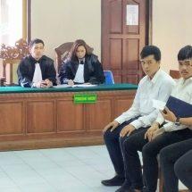 Telan 528 Gram Methampetamine, Dua Warga Thailand Dituntut 18 Tahun