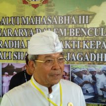 Mahasabha III Pasemetonan Agung Nararya Dalem Benculuk Tegeh Kori,  Brigjen Pol. (Purn.) Suweta Terpilih Secara Aklamasi