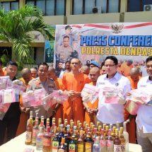 Operasi Antik, Polresta Denpasar BekukBandar Narkoba dan Miras
