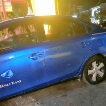 Diduga Palsukan Logo dan Merk Blue Bird, Sejumlah Taksi 'Bodong' Digaruk Petugas
