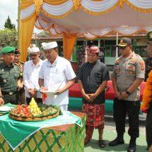 Syukuran HUT ke-74 TNI dan Penyambutan Atlet Run For Bali 374 KM di Makodim Bangli