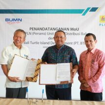 PLN Siap Penuhi Kebutuhan Investasi untuk Kawasan Bali Turtle Island