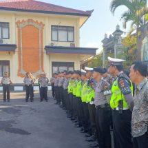 Polres Bangli Siapkan Pengamanan Upacara Pengabenan Alm. Ayu Onik Mindawati