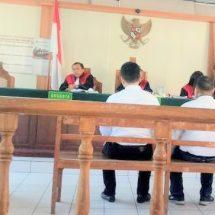 Sidang Perusakan Gembok Pintu: Dituntut Sebulan, Hakim Vonis Tiga Bulan