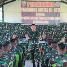 Pangdam Kunjungan Kerja di Wilayah Timur Kodam Udayana
