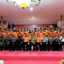 Pelatihan Potensi SAR di Halmahera Selatan Digelar di Atas Laut