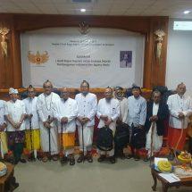 Seminar Lintasan Sejarah Pembangunan Negara dan Agama Hindu, Dirjen Bimas Hindu: Pemikiran IGB Sugriwa Sangat Relevan Direalisasikan Saat ini