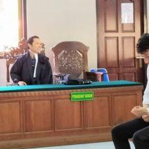Selundupkan Psikotropika ke Bali, Warga Taiwan Dituntut Setahun