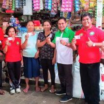 Setelah Pasar Anyar dan Tegalcangkring, BPD Bali Cabang Negara dan Dinas Koperindag Launching E-Retribusi di Pasar Umum Jembrana