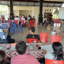 Diageo Indonesia Fasilitasi Warga Nyambu Rencanakan Program Mengurangi Penggunaan Plastik Sekali Pakai
