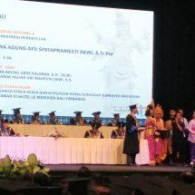 Wisuda XXV, Politeknik Pariwisata Bali Mewisuda 541 Orang Lulusan