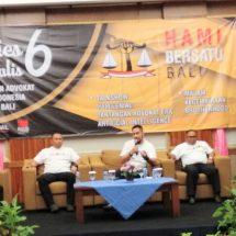 Rayakan Dies Natalies Ke-6, DPD HAMI BERSATU Bali Imbau Advokat Tingkatkan Kapasitas dan Integritas Dalam Memberikan Pelayanan Hukum