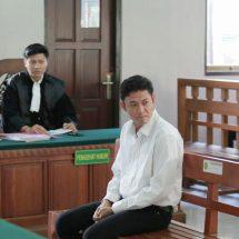Pembunuh SPG Cantik Dituntut 12 Tahun Penjara