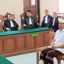 Sidang Penipuan dan TPPU: Divonis 12 Tahun Penjara, Mantan Wagub Bali Banding