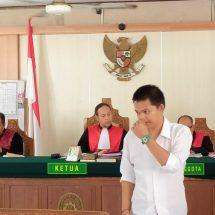 Kurir 11 Paket Sabu-Sabu Asal Aceh Dituntut 16 Tahun Penjara