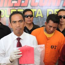 Pukul Polisi, Pria Bertato Dikeler Polresta Denpasar