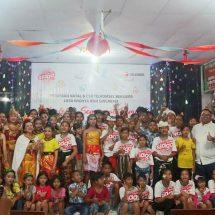 Sambut Natal, Telkomsel Serahkan Bantuan Kepada LKSA Widhya Asih Singaraja