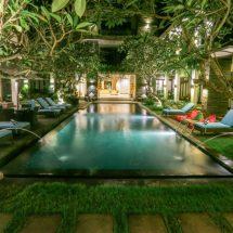 Argya Santi Resort Jimbaran, 'Surga Kecil' Langganan Para Turis Eropa