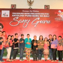 Lomba Cipta Puisi Guru se Bali, Ny. Putri Koster Ingin Seni Sastra Bali makin Mendunia