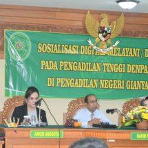 "Hadapi Era Industri 4.0, Pengadilan Tinggi Denpasar Sosialisasikan Program ""Dilan"""