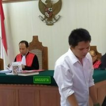Perantara 11 Paket Sabu-sabu Diganjar 13 Tahun Penjara