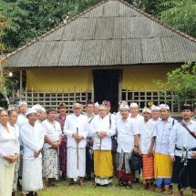 "Pujawali di Pura Kahyangan Jagat Luhur Aseman ""Pusatnya Kesejahteraan"", 5 Pebruari Puncak Karya"