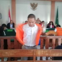 Pemilik 6,66 Gram Sabu Dituntut 15 Tahun Penjara