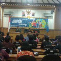 "Bekali Mahasiswa Hadapi Era Digital, Rektor Unud Launching Mata Kuliah Online ""Digital Society"""