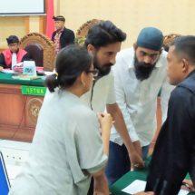 Selundupkan 2.756 Gram Sabu-sabu, Dua Warga India Dituntut 20 Tahun Penjara
