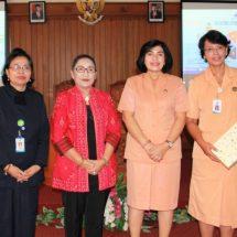 Ny. Tjok Putri Hariyani Ardhana Sukawati Hadiri Ceramah Memilih Kosmetik Aman di BBPOM