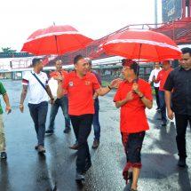 Ketua PSSI dan Gubernur Koster Tinjau Lapangan Dipta, Disiapkan untuk PD U-20