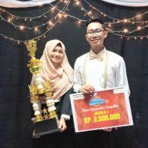 UGM Juara Kompetisi Infografis Nasional, Investor Milenial Dominasi Pasar Modal