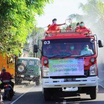Program ITDC Lawan Corona, Gelar Penyemprotan Disinfektan di Desa Penyangga Nusa Dua