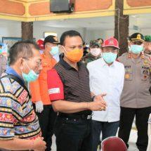 Ketua Satgas Penanganan Covid-19 Pantau Pelabuhan Gilimanuk