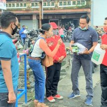 Cegah Covid-19, PT Indo Bali Gas Grup dan PT. Stern Indotrac Indonesia Bagikan Ribuan Masker, Hand Sanitizer dan Sembako