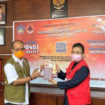 Cegah Covid-19, BBPOM di Denpasar Serahkan Bantuan Hand Soap dan Hand Sanitizer