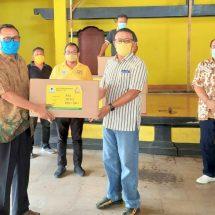 Fraksi Golkar Seluruh Bali Sumbangkan 75 Persen Gaji untuk Penanganan Covid-19