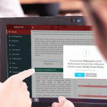 Dampak Covid-19, Unud Beri Kuota Internet Gratis ke Mahasiswa Hingga 25 GB