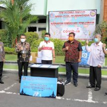 BMPD Bali Bantu RSUD Klungkung 5.727 APD