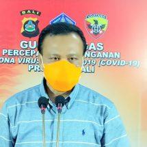 Korban Meninggal Akibat Covid-19 di Bali Jadi Tiga Orang, Kasus Positif 131