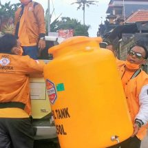 Satgas Covid-19 Hanura Bagikan Puluhan Wastafel ke Seluruh Bali