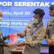 Serentak Di Sembilan Pintu, Menteri Pertanian Lepas Ekspor Raya Komoditas Pertanian