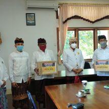 Cegah Covid-19: NCPI Bali Bersama WHP, INI, INTI Bantu Masker Ke Desa Adat