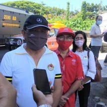 Cegah Covid-19, NCPI Bali Bersama Pengusaha Serahkan Bantuan APD ke BPBD